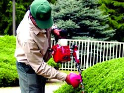 Preventing accidents gardening tasks