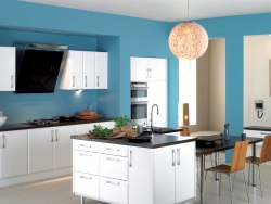 Decoration white kitchens