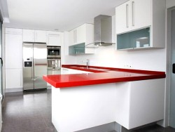 Granite countertops, wood, marble and melamine