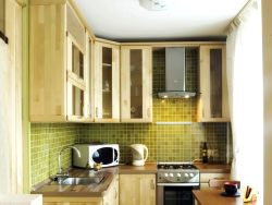 Ideas for decorating a small kitchen