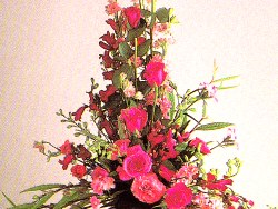 Arrangements altos fleurs